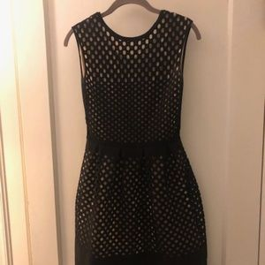 Fendi Black Cutout Dress